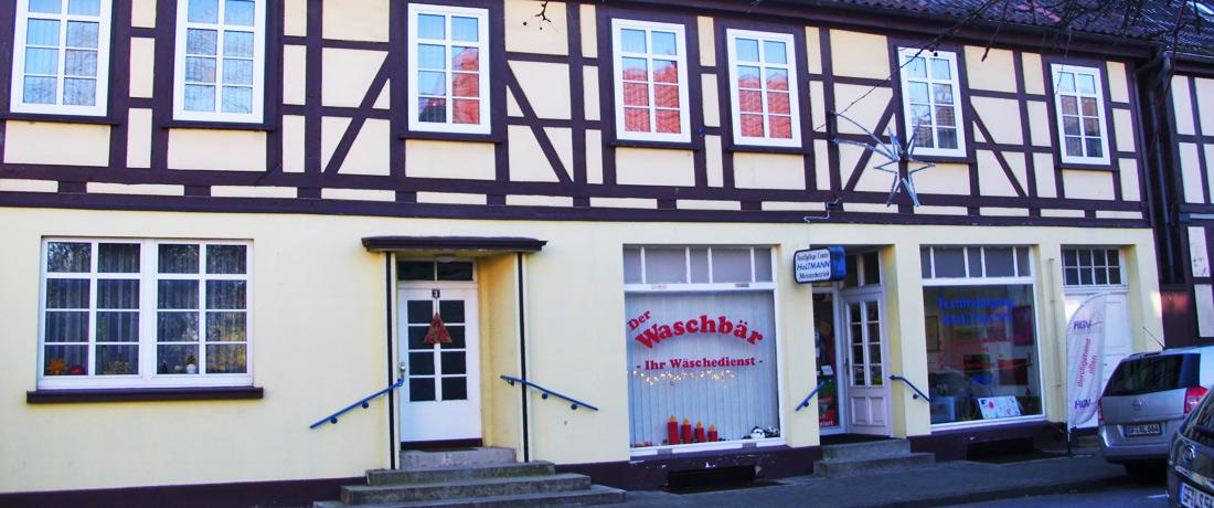 Färberei Holtmann in Wittingen - Eingangsbereich