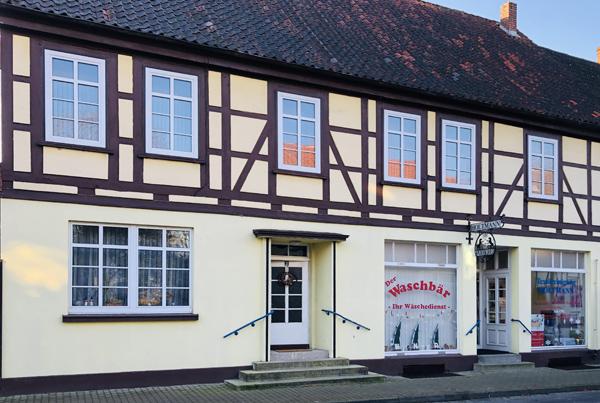 Färberei Holtmann in Wittingen - das Ladengeschäft in der Junkerstraße