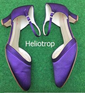Färberei Holtmann Wittingen - Schuhe färben - Heliotrop