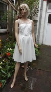 Färberei Holtmann Wittingen - Brautkleid vor dem Färben - Baumwolle-Batist