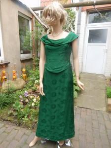 Färberei Holtmann Wittingen - Brautkleid - gefärbt - Acetat - grün