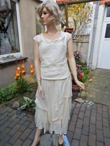 Färberei Holtmann Wittingen - Brautkleid vor dem Färben